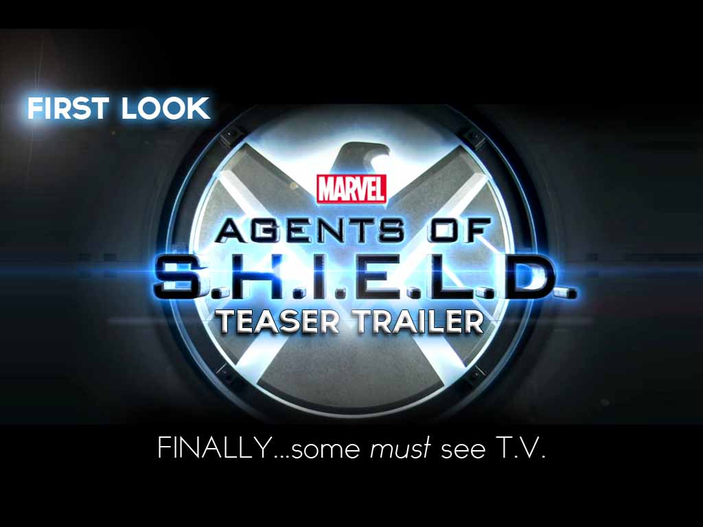 AGENT of S.H.I.E.L.D teaser trailer – FIRST LOOK