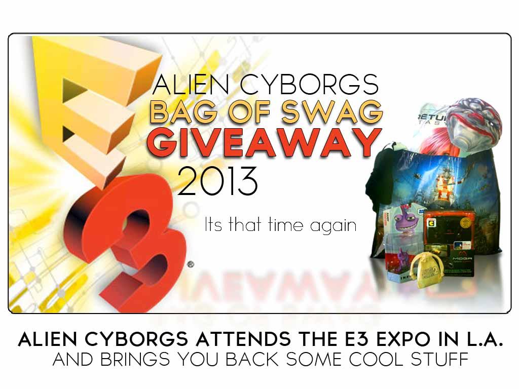 Alien Cyborgs Bag o' Swag Giveaway 2013