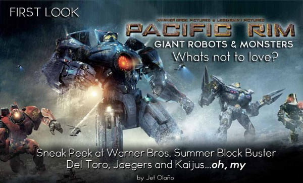 Movie Review: Pacific Rim <B><Em>Does del Toro deliver?</B></Em>