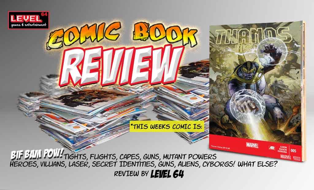 COMIC BOOK REVIEW: Thanos Rising #5