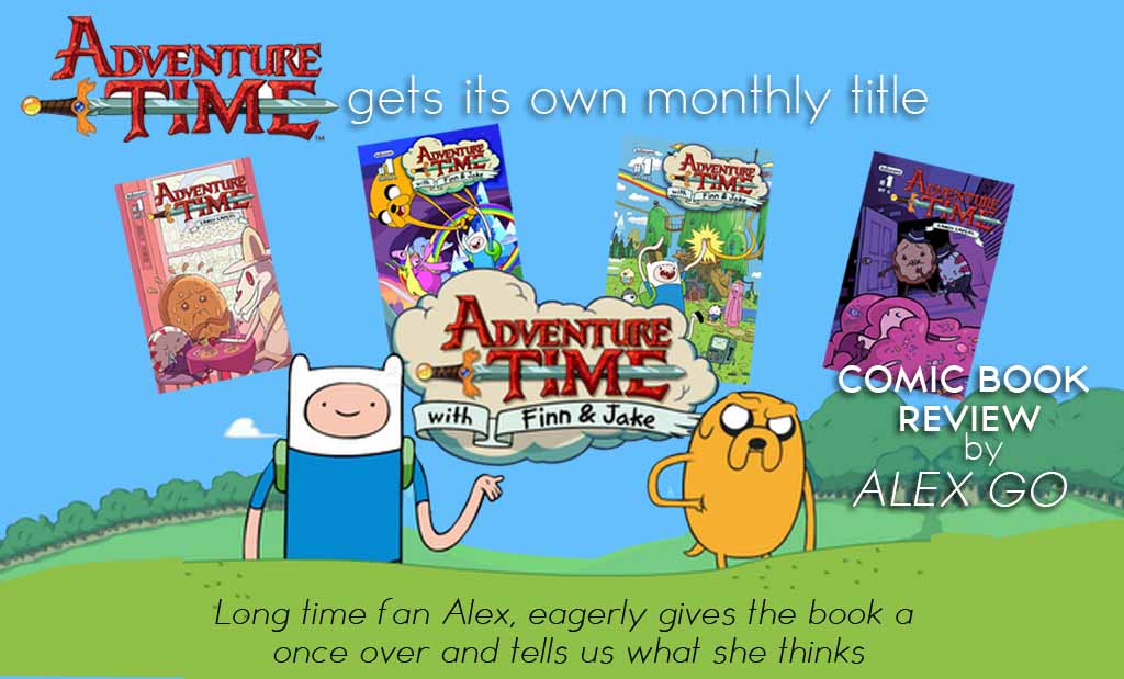 Comic Review : Adventure Time – Series 1