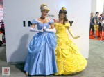 Alien Cyborgs_Disney D23 Fan Expo_Cosplay_Cinderella and Belle