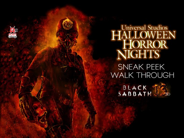Black Sabbath Sneak Peek Halloween Horror Nights