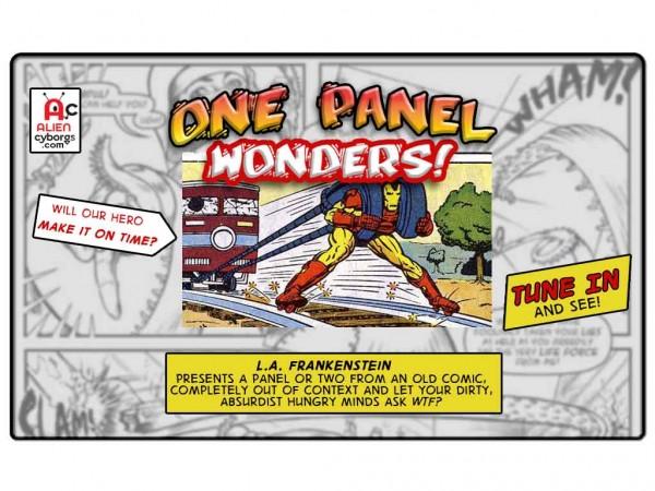 One Panel Wonders: IRON MAN, PROBLEM SOLVER!