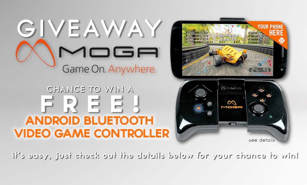 GIVEAWAY: MOGA BLUETOOTH ANDROID GAME CONTROLLER