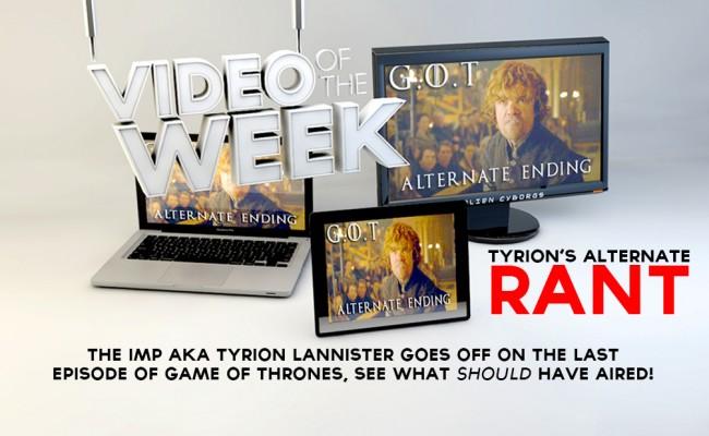 Alternate Ending to last weeks Game Of Thrones