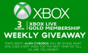 XBOX 3 Month Live Gold Membership Giveaway